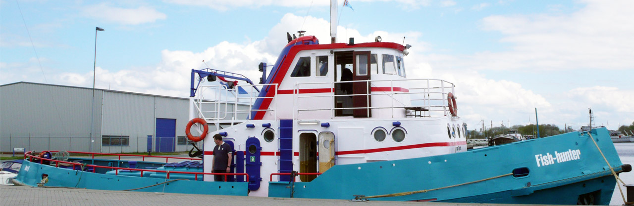 Hochseeangeln ab Borkum - MS Fish-hunter Borkum